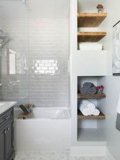 Comment agrandir la petite salle de bains – 25 exemples | Small ...