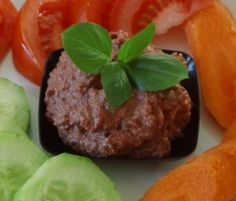 RAW recepty babičky Aničky - Pomazánky, omáčky, sýry - Pomazánky 1 Beef, Food, Meat, Essen, Meals, Yemek, Eten, Steak