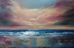 Here to Eternity - Oil painting 20 x 30 inches - oil on canvas www. From Here To Eternity, Painting Competition, Art Competitions, Online Art Gallery, Oil On Canvas, Contemporary Art, Places To Visit, Clouds, Fine Art