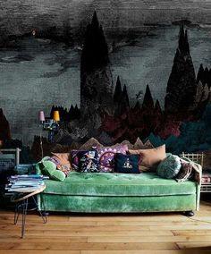 divani angolari per la casa - divano angolare con penisola tonda ... - Angolo Divano In Pelle Nera Divano Sogno Bianco