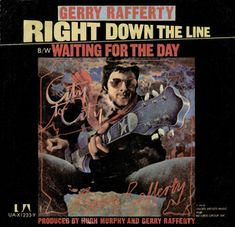 """Feb - """"Right Down the Line"""" Scottish singer-songwriter Gerry Rafferty. Released in 1978 it was the only Rafferty song to ever reach on any US chart. Gerry Rafferty, Dream Song, Stuck In My Head, Country Music, Singer, Baseball Cards, Sports, Books, Movie Posters"""
