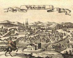 Imagen medieval de Nagyvárad o Várad o, en alemán, Waradein