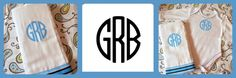 Use this cool FREE Monogram maker to create your own monograms!