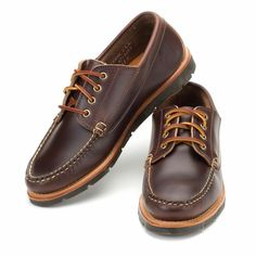 Rancourt Baxter Ranger Mocs - Made in Maine  Basically love with these companies are all about. Own fewer better items!