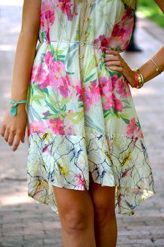 playful floral print