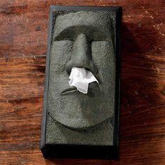 Tiki Head Tissue Box Cover!