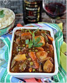 Receita fácil de carne ao molho de vinho tinto seco