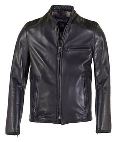 Men's Leather Jackets: How To Choose The One For You. A leather coat is a must for each guy's closet and is likewise an excellent method to express his individual design. Leather jackets never head out of styl Cafe Racer Leather Jacket, Cafe Racer Jacket, Lambskin Leather Jacket, Leather Men, Schott Jacket, Jacket Men, Mens Designer Leather Jackets, Jacket Style, Shirt Sleeves