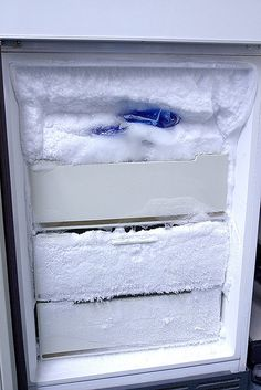 Why It's Important to Defrost Your Freezer — Love Your Freezer (Kitchn Best Fridge Freezer, Methods Of Food Preservation, Freezer Hacks, Freezer Friendly Meals, Fridge Organization, Organizing Life, Organising, Energy Efficient Homes, Frozen Meals