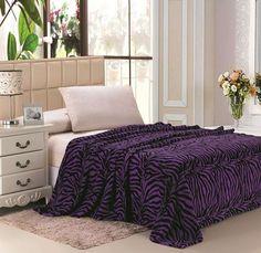 plazatex-animal-print-microplush-blanket-zebra-purple