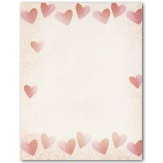 Valentine Ideas - Pin it :-) Follow us, CLICK IMAGE TWICE for Pricing and Info . SEE A LARGER SELECTION of valentines ideas  at http://azgiftideas.com/product-category/valentines-ideas/  - gift ideas, valentines , crafts, treats  -   Red Hearts Letterhead