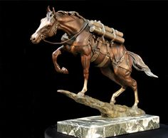 Sgt. Reckless. I would love to have this but it's a little pricey for me. www.wildlifebronzes.com