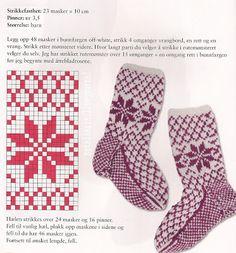Всем, кто вяжет, дарю старые идеи для новых работ - Носки-детям  орнамент ....................................... Knitting Stiches, Knitting Videos, Knitting Charts, Knitting Socks, Baby Knitting, Patterned Socks, Knitting Accessories, Cool Socks, Knit Or Crochet