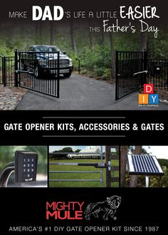 Away from Gate Ghost Controls AXPB Push Button for Gate Opener Systems Allows Activation Up to 1000 ft