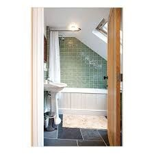 Image result for attic bathroom with tub