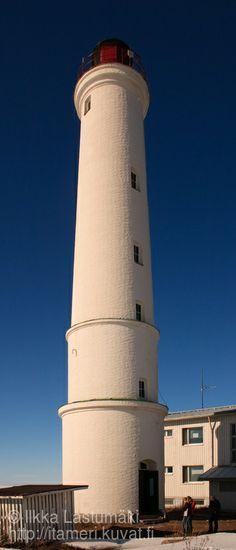 Lighthouse Marjaniemi, Hailuoto, Oulu, Northern Ostrobothnia province of Finland  - Pohjois-Pohjanmaa - Norra Österbotten