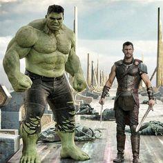 "458 Likes, 4 Comments - Delightful Comics (@delightfulcomics) on Instagram: ""#Hulk @markruffalo & #Thor @chrishemsworth #thorragnarok - - @marvel @marvelstudios - - - -Comic…"""