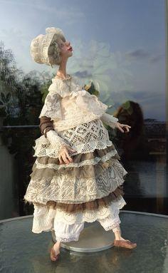 Puppe Emanuella handmade