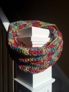 Handmade Crochet Infinity Cowl by EverydayCrochet247 on Etsy