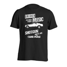 Driver Picks The Music Winchestser Supernatural T-shirt