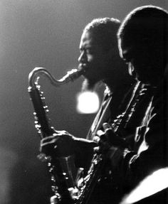 somethingtoseeorhear:  Dolphy and Coltrane