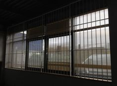 RSG2000 security window bars fitted to the opening of an industrial office in Sutton.