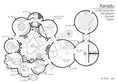 Floor Plan: DL-3602 | Monolithic Dome Institute