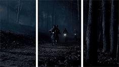 Stranger Things gif - Mike Wheeler, Eleven, Lucas Sinclair, Dustin Henderson