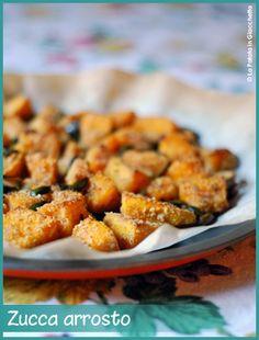 Zucca arrosto Sweet Potato, Vegetables, Drink, Food, Beverage, Vegetable Recipes, Eten, Veggie Food, Drinking
