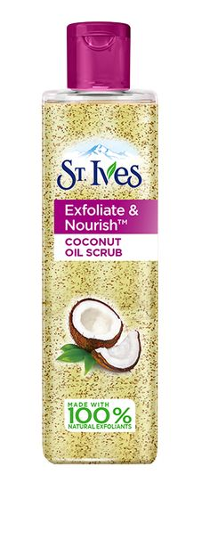 St. Ives Exfoliate and Nourish Coconut Facial Oil Scrub