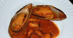 Arroz de Minhoca: Mexilhões em Molho de Pimentos (Pimentões) Vermelhos
