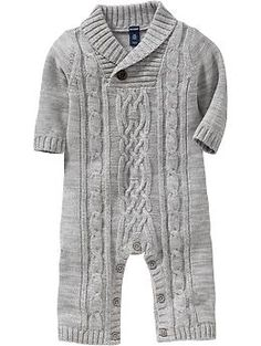 Cable-Knit Sweater One-Pieces for Baby | Old Navy