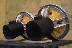 Atelier Rullit Super AERO 12 field coil full range driver.