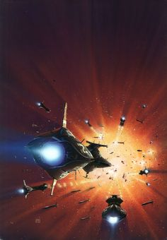 Galactic Cluster // Peter Elson (1947-1998)