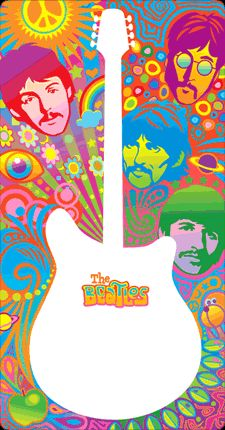 Loved the Beatles and I love this art.