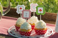 Watermelon Picnic Collection: Printable by sweetpeachpaperie