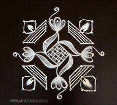 Indian Rangoli Designs, Rangoli Designs Latest, Simple Rangoli Designs Images, Rangoli Border Designs, Rangoli Designs With Dots, Rangoli With Dots, Beautiful Rangoli Designs, Simple Rangoli Kolam, Diwali Rangoli