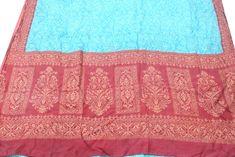 Recycled Sari Silk, Pure Silk, Indian Silk Sari Old Recycled Used Sari, Vintage Dressmaking Craft, Printed Silk Decorative Fabric #PSTIC 224 Fabric Remnants, Silk Fabric, Sari Silk, Silk Dress, Bridesmaid Gifts, Bridesmaids, Indian Fashion, Women's Fashion, Wedding Kimono