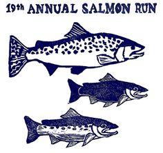 Give Running was a non-profit partner at Patagonia's Salmon Run 5k!