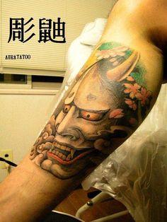 般若 by 刺青師の嫁