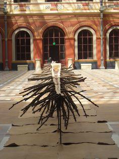 (A) Giuseppe Penone, la Matrice de Sève était exposée à l'école de Beaux Arts de Paris #UneSource