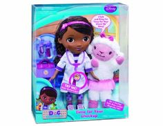 Doc McStuffins Time for Your Checkup Interactive Doc and Lambie: Amazon.co.uk: Toys & Games