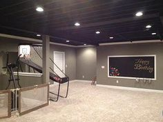 How to Finish Your Basement and Basement Remodeling Finishing your basement can almost double the square foot living space of your home. A finished basement can include new living space such as a r… Basement Bedrooms, Basement Walls, Basement Flooring, Basement Gym, Basement Bathroom, Basement Layout, Basement Apartment, Basement Play Area, Dark Basement