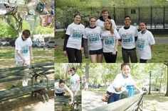 The #Vitacare team was all smiles for New York Cares Day volunteering at Thomas Jefferson Park!