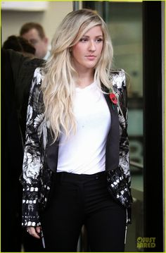 Celeb Diary: Ellie Goulding @ BBC Breakfast show in Manchester, Anglia