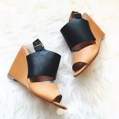 Joie Two Tone Wedges SO cute and perfect for spring + summer! Brand new! Size 38.5. No trades!! 031416250pm Joie Shoes Wedges