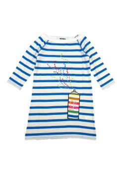 SONIA RYKIEL ENFANT Spray Paint T-dress: Clothing spray paint, enfant spray, paint tdress