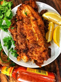Keto Crispy Cajun Catfish (Darius Cooks) Fish cakes recipe & content provided by Jordan Pie. Move over, chicken nuggets: Fish cakes make the perfect keto-friendly appetizer or weeknight dinne. Baked Catfish Recipes, Fried Fish Recipes, Seafood Recipes, Keto Recipes, Cooking Recipes, Healthy Recipes, Seafood Dishes, Greek Recipes, Healthy Eats