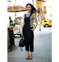 Simple chic street style