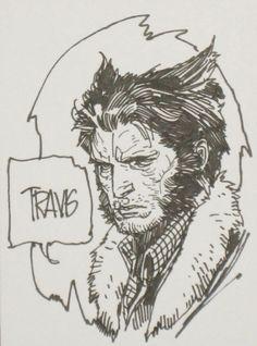 Wolverine by Travis Charest Comic Art